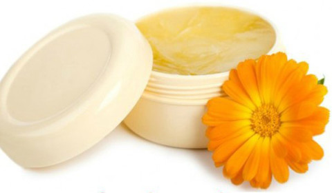 Beeswax Olive Oil Marigold Flower Mask - Desiredface - European Facial Workout - California - www.desiredface.com