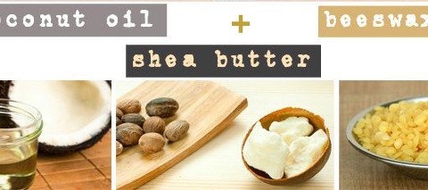 Cononut Oil Beeswax Shea Butter - Desiredface - European Facial Workout - California - www.desiredface.com
