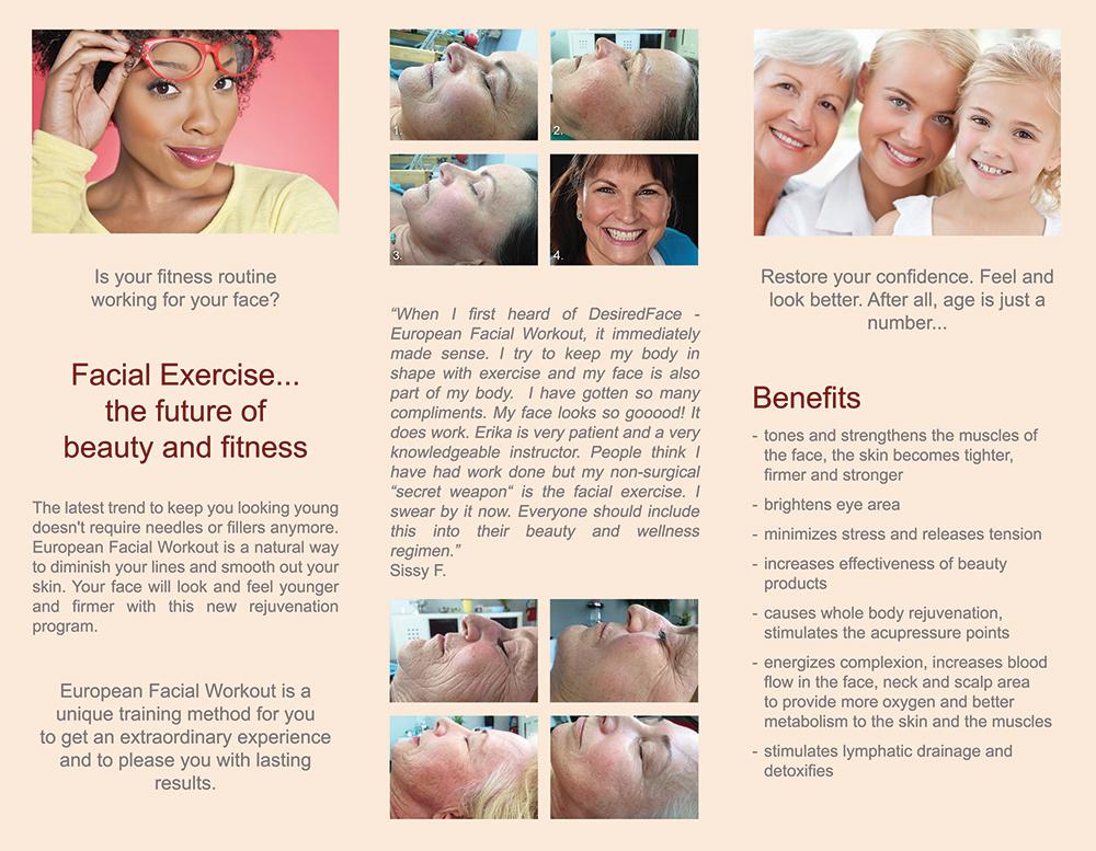 DesiredFace Brochure B