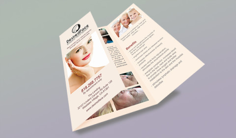 DesiredFace Brochure - Desiredface - European Facial Workout - California - www.desiredface.com