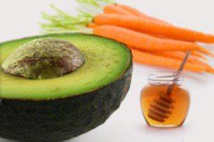 avocado carrot - Desiredface - European Facial Workout - California - www.desiredface.com